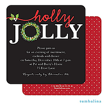 Company christmas party invitations new selection for 2017 christmas company party invitations holly jolly stopboris Image collections