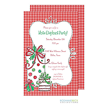 Ornament / Gift Exchange Christmas Party Invitations 2018