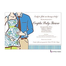 baby shower invitations for couples 2018