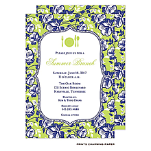 Garden Party Invitations PrintsWell