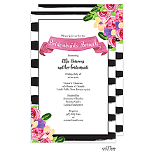 Bridal Luncheon invitations NEW selections Summer 2018