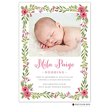 girl birth announcements new selections fall 2018