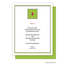 engagement Christmas party invitations