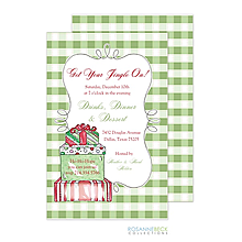 Christmas  cocktail gifts party invitations