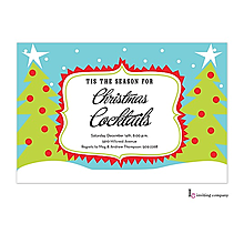 christmas kids party invitations