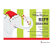 Company Christmas Party Invitations New Selection For - White elephant christmas party invitations templates