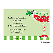Christmas Cocktail Party Invitations Large Selection 2017
