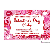 Valentine's Day party invitations- crazy day