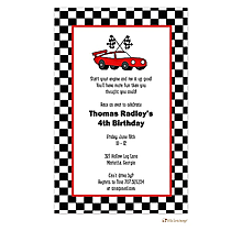 Nascar party invitations daytona 500 2018 racecar party invitations filmwisefo Choice Image