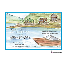 Fishing Party invitations NEW selections Fall 2017