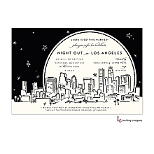 Christmas Company Office Party Invitations chicago skyline