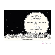Christmas Company Office Party Invitations new york skyline