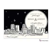 Christmas Company Office Party Invitations birmingham skyline