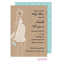 Your interracial baby shower invitations