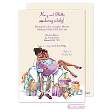 African american baby shower invitations new selections fall 2018 couples baby shower invitations filmwisefo