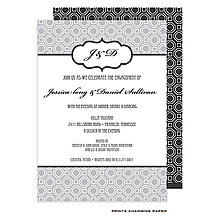 Black and White Party Invitations NEW selections Summer 2018