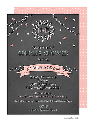 Couplease baby shower Party Invitations