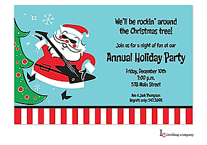 Kids and Family Christmas Party Invitations New for 2018