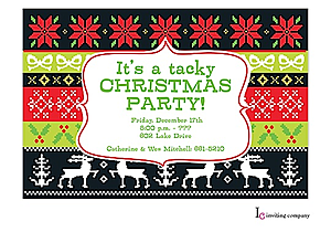 Ugly Sweater Christmas Party Invitations New for 2018