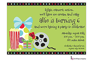 Movie Party Invitations | Movie Screening Party Invitations New Selections Winter 2018