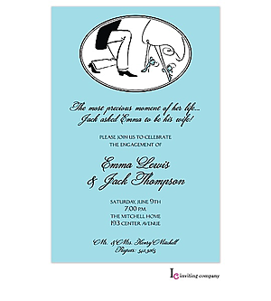 Proposal Engagement Party Invitations