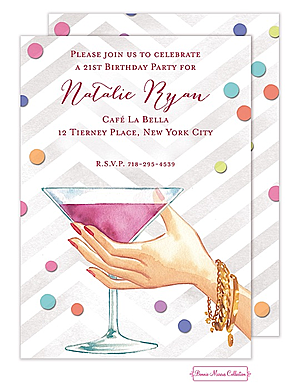 Adult Birthday Party Invitations New Selections New Selections