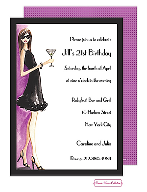21st birthday party invitations new selections winter 2018