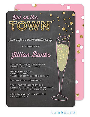 Girls Night Out Party invitations NEW selections Summer 2018