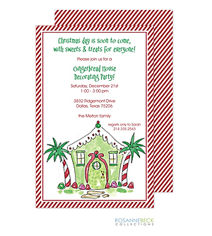 christmas holiday tropical party invitations 2018