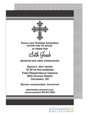 First Communion Party Invitations New Designs for 2019