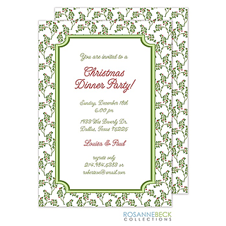 Office Holiday and Christmas Party Invitations 2017